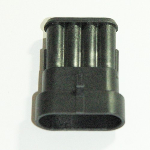 Steckgehäuse Super Seal 4-polig