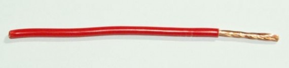 FLRY Leitung 2,5qmm rot