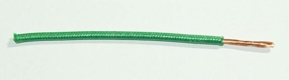 Textilumflochtene FLRY-Ltg. 2,5 qmm grün