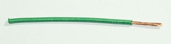 Textilumflochtene FLRY-Ltg. 1,5 qmm grün