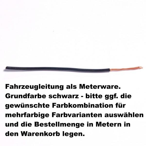 FLRY Leitung 1,5qmm schwarz