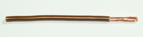 FLRY Leitung 4,0qmm braun