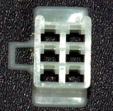 Japanisches 2,8mm Buchsengehäuse 6-polig
