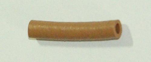 Universelle Gummitülle 2,5 x 25mm braun