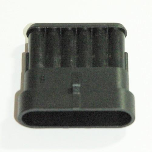 Steckgehäuse Super Seal 6-polig