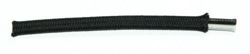 Baumwollumfl. Zwillingsleitung 2x1,5qmm
