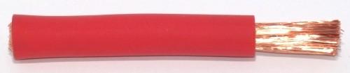 Gummiisolierte Batterieleitung 35,0qmm rot
