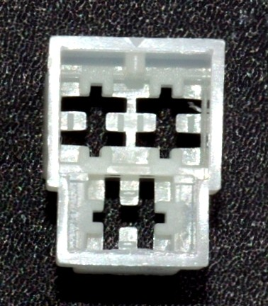 Standard 6,3mm Steckgehäuse 3-polig