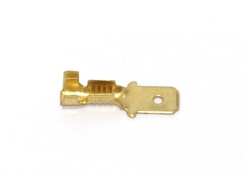 Flachstecker kurz 4,8mm 0,5-1,0qmm