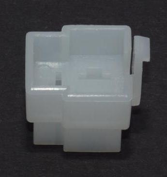 Jap. 3-poliges 6,3mm Steckgehäuse