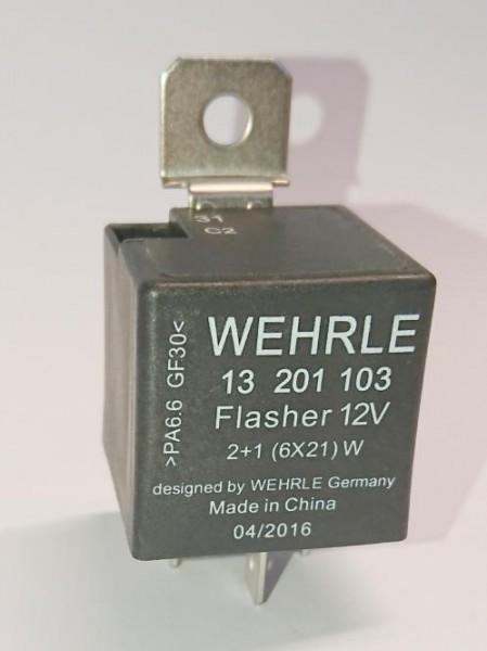 Elektronischer Blinkgeber 12 V für Anhängerbetrieb C2