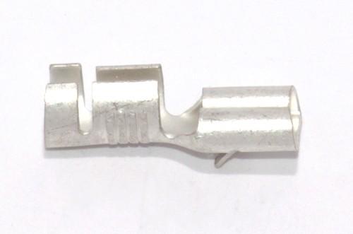 Flachsteckhülse mit Rast 6,3mm 4,0-6,0qmm