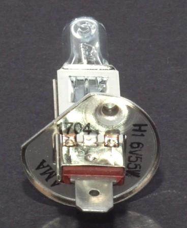 Glühlampe 6V 55W P14,5 H1