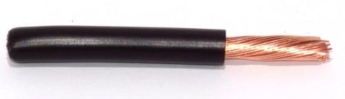 FLY Leitung 10qmm schwarz