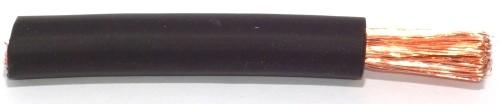 Gummiisolierte Batterieleitung 35,0qmm schwarz