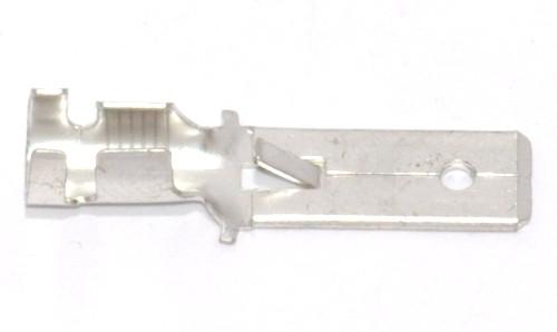 Flachstecker lang mit Rast 6,3mm 4,0-6,0qmm