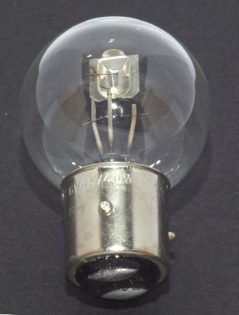 Glühlampe 6V 45/40W BA21d