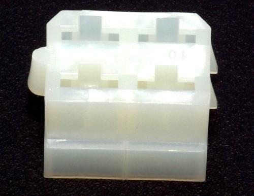 Standard 6,3mm Buchsengehäuse 4-polig