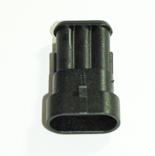 Steckgehäuse Super Seal 3-polig