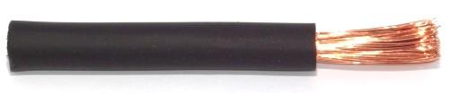 Gummiisolierte Batterieleitung 25,0qmm schwarz