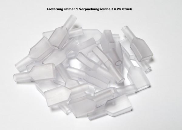 Isolationstüllen für 9,5mm Flachsteckhülsen
