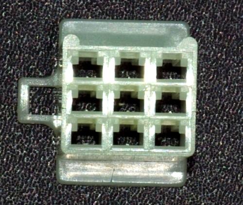 Japanisches 2,8mm Buchsengehäuse 9-polig