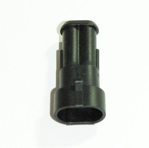 Steckgehäuse Super Seal 2-polig