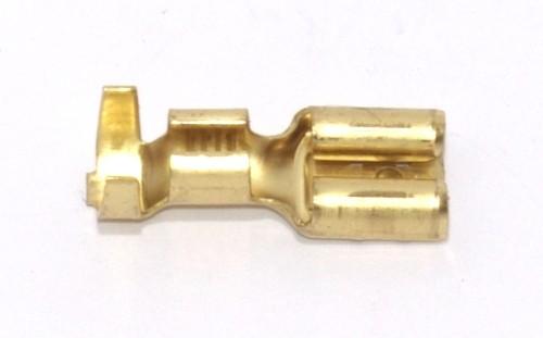 Flachsteckhülse 6,3mm 4,0-6,0qmm