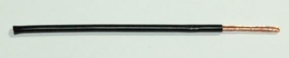 FLRY Leitung 1,0qmm schwarz