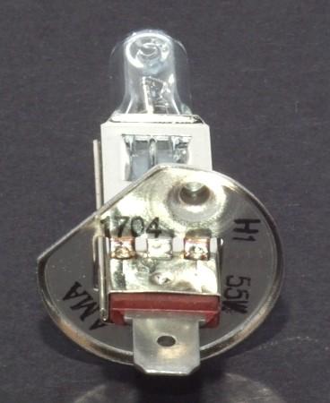 Glühlampe 12V 55W P14,5