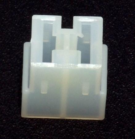 Standard 6,3mm Buchsengehäuse 2-polig
