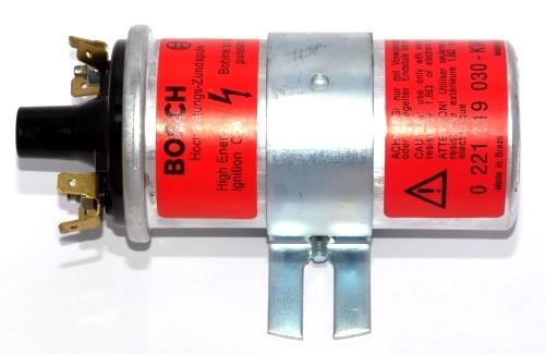 Bosch Zündspule 12 Volt (rot) ohne Vorwiderstand
