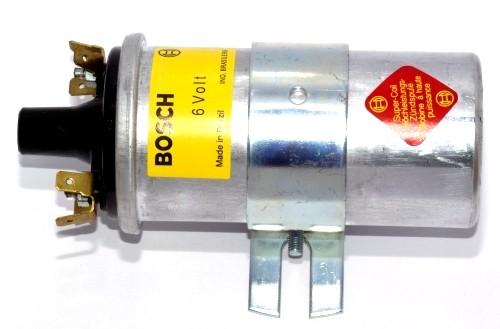 Bosch Zündspule 6 Volt (blau)