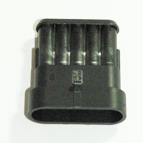 Steckgehäuse Super Seal 5-polig