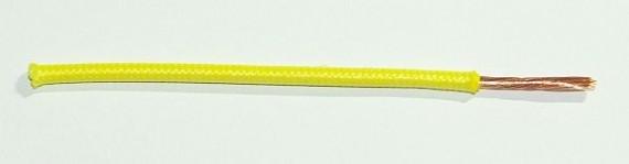 Textilumflochtene FLRY-Ltg. 2,5 qmm gelb